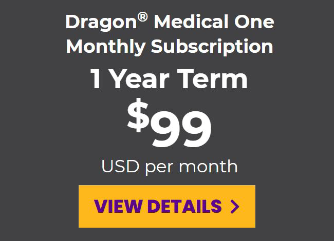 DMO monthly subscription for a 1-year term