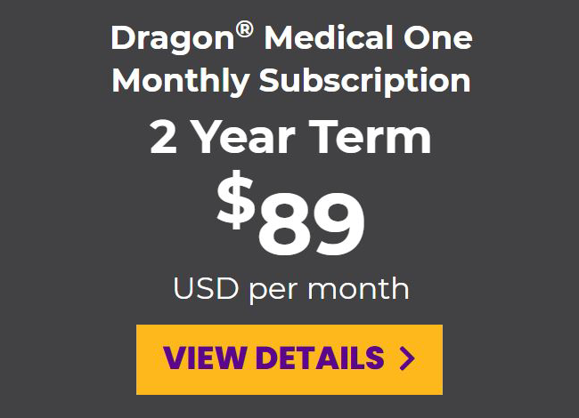 DMO monthly subscription for a 2-year term