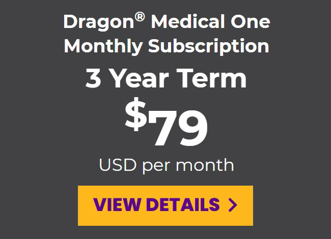 DMO monthly subscription for a 3-year term