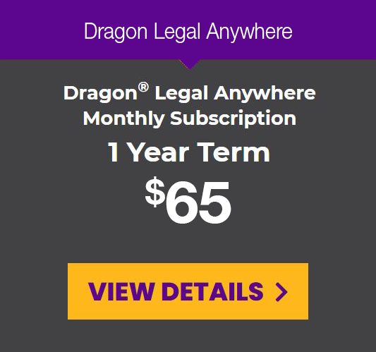 DLA monthly subscription for a 1-year term